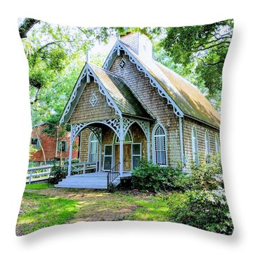 Feel At Ease Throw Pillow