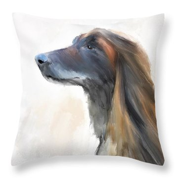 Feeling The Breeze Throw Pillow