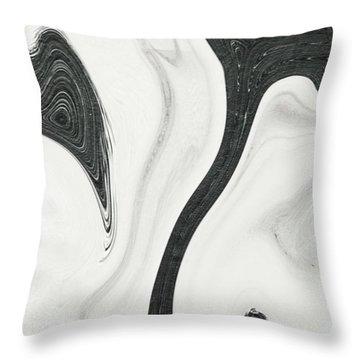 Feminine II Throw Pillow
