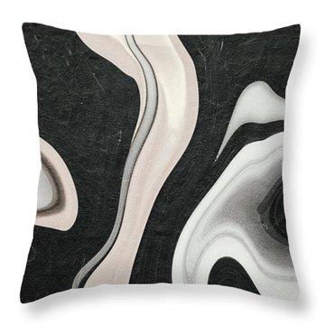 Feminine IIi Throw Pillow