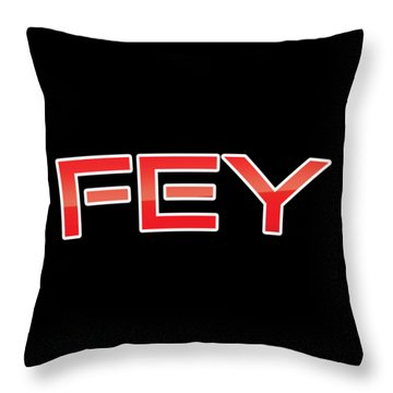Throw Pillow featuring the digital art Fey by TintoDesigns