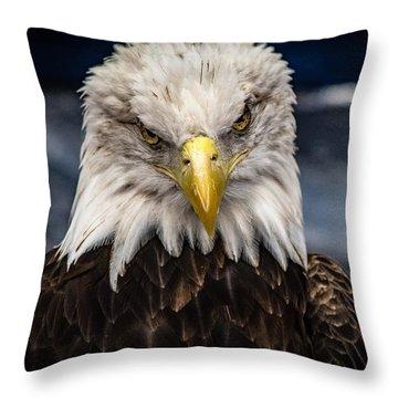 Fierce Throw Pillow