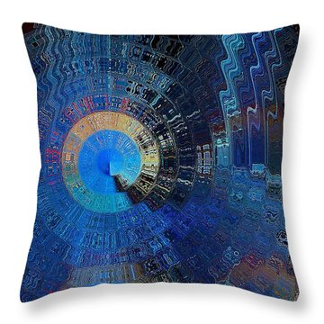 Final Gateway Throw Pillow