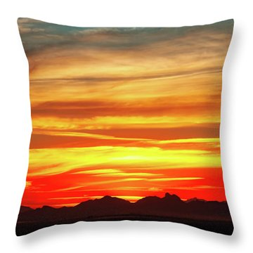 Throw Pillow featuring the photograph Final Glimpses by Rick Furmanek