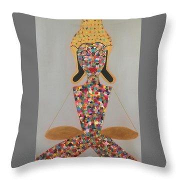 Find Balance  Throw Pillow