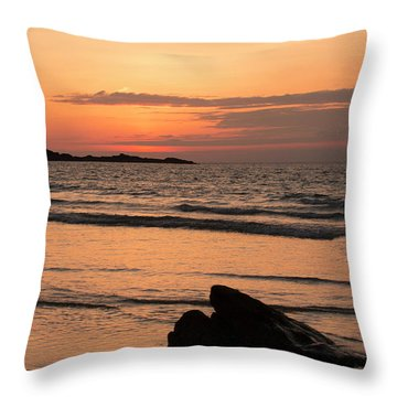 Fine Art Sunset Collection Throw Pillow