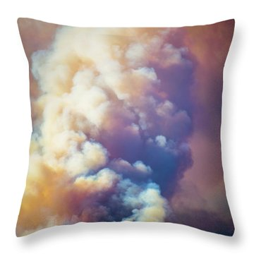Throw Pillow featuring the photograph Fire Power by Lynn Bauer