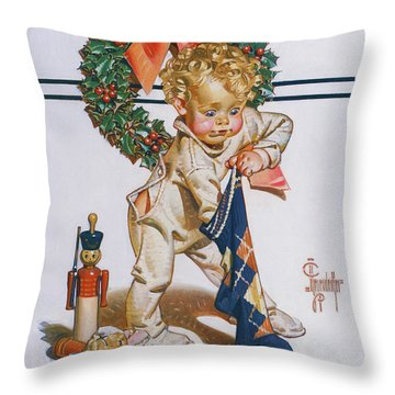 First Christmas - Digital Remastered Edition Throw Pillow