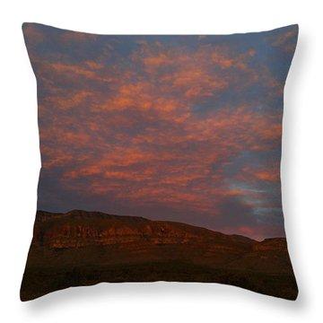 First Light Over Texas 3 Throw Pillow