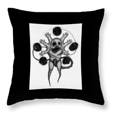 Firstborn Of The Nursery Wing - Artwork Throw Pillow