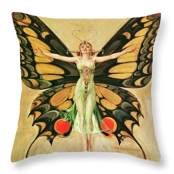 Flapper - Digital Remastered Edition Throw Pillow
