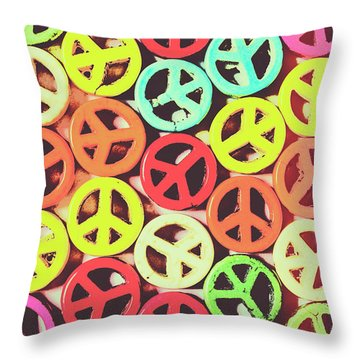 Flares Of Freedom Throw Pillow