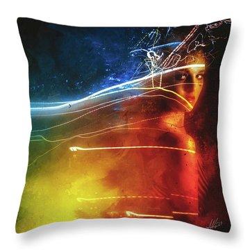 Souvenirs Digital Art Throw Pillows