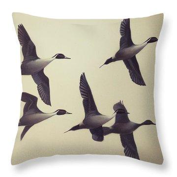 Flight Throw Pillow