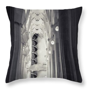 Throw Pillow featuring the photograph Flights Of Fancy 1 by Alex Lapidus