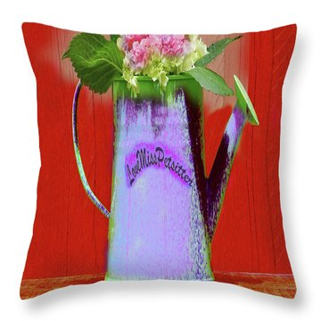 Floral  Art 375 Throw Pillow