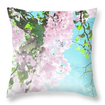 Floral Dreams IIi Throw Pillow