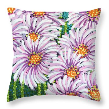 Floral Whimsy 1 Throw Pillow