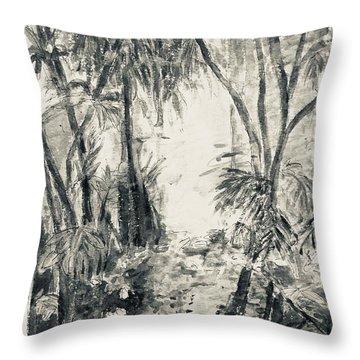 Florida Fauna 2 Throw Pillow
