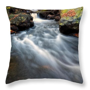 Throw Pillow featuring the photograph Flow by Russell Pugh