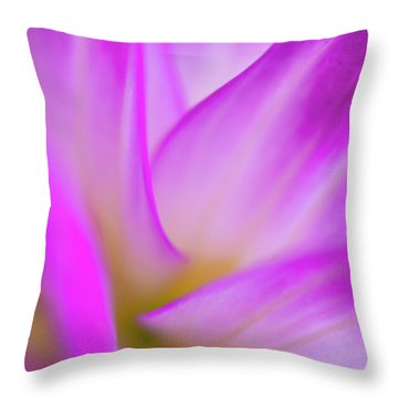 Flower Close Up Throw Pillow
