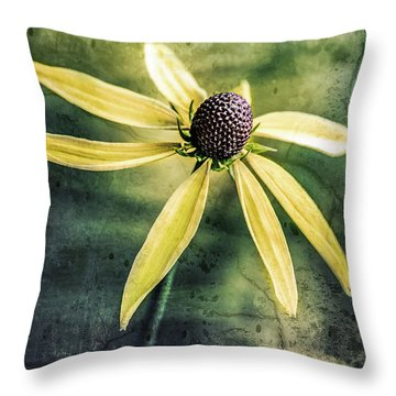 Throw Pillow featuring the photograph Flower Texture by Michael Arend
