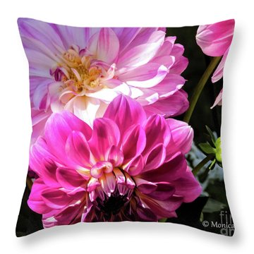 Flowers Hanging No. Hgf14 Throw Pillow
