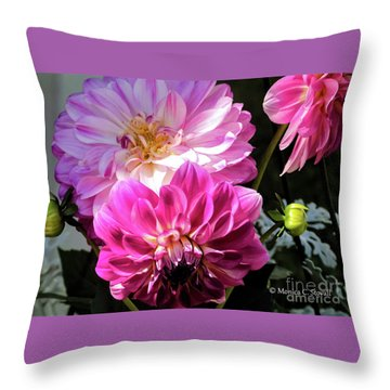 Flowers Hanging No. Hgf14 Throw Pillow
