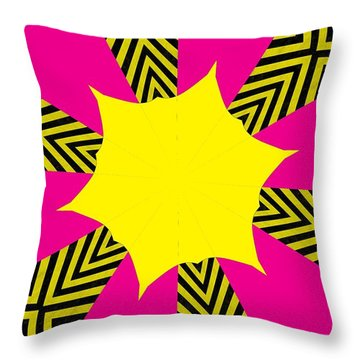 Flowers Number 14 Throw Pillow