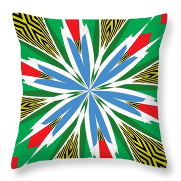Flowers Number 17 Throw Pillow