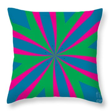Flowers Number 18 Throw Pillow