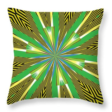 Flowers Number 26 Throw Pillow