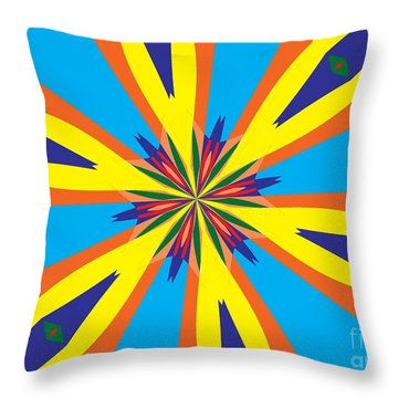 Flowers Number 28 Throw Pillow