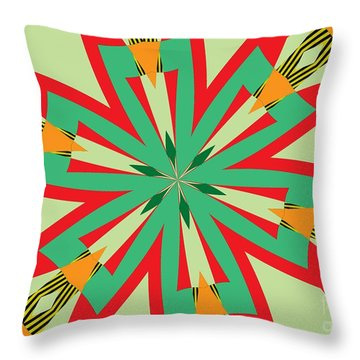 Flowers Number 29 Throw Pillow