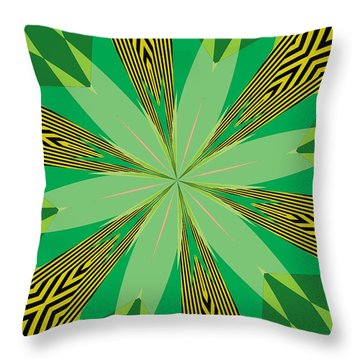 Flowers Number 31 Throw Pillow