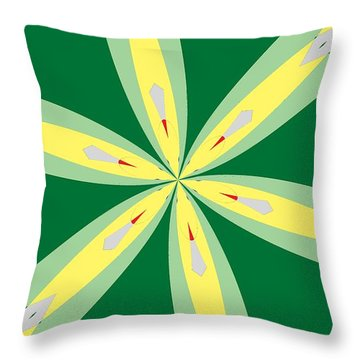Flowers Number Thirty Throw Pillow