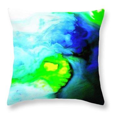 Fluctuating Awareness Throw Pillow