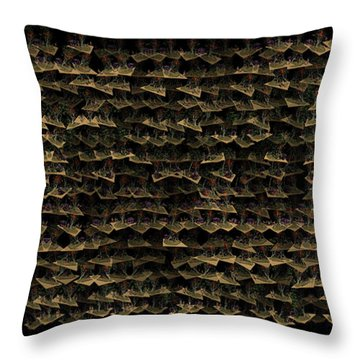 Flying Islands Throw Pillow