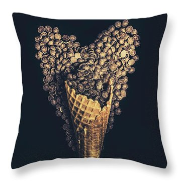For A Sweetheart Throw Pillow