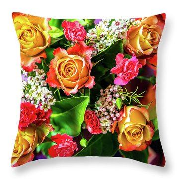 For Giving Love Throw Pillow