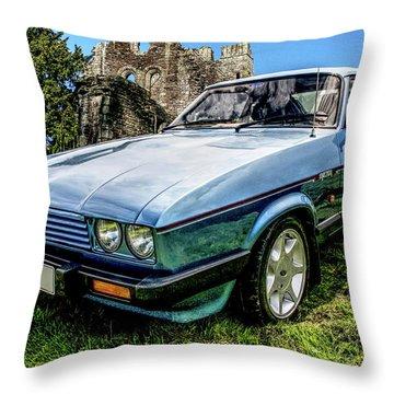 Ford Capri 3.8i Throw Pillow