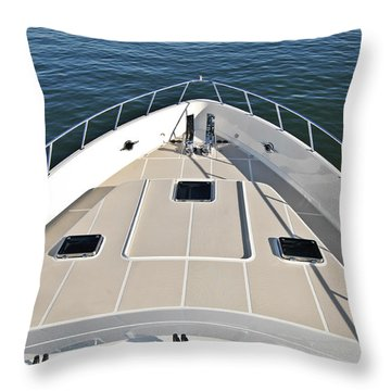 Fore Deck Throw Pillow