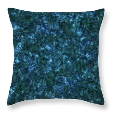Forest Canopy 3 Throw Pillow