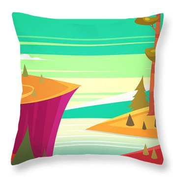 Freshness Throw Pillows