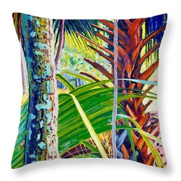 Forest Prayer Throw Pillow