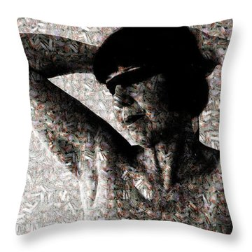 Forgetting Memories Throw Pillow