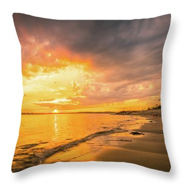 Fort Foster Sunset Watchers Club Throw Pillow