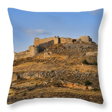 Fortress Larissa Throw Pillow