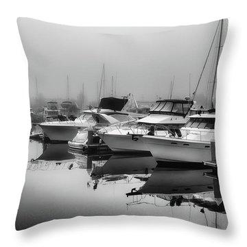 Foss Fog Throw Pillow