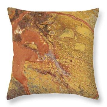 Fox Tail Throw Pillow